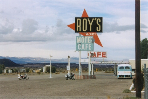 Roy's Motel & Cafe in Amboy, Calif., on Route 66.