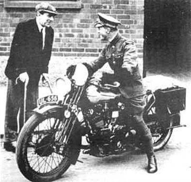 Fighter Pilot Motorcycle Helmet Lawrence of Arabia Rod...