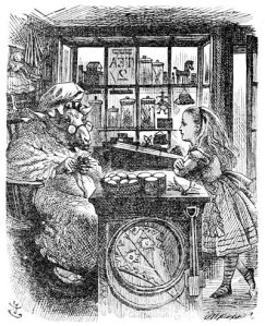 400px-John_Tenniel_Alice_and_the_Knitting_Sheep