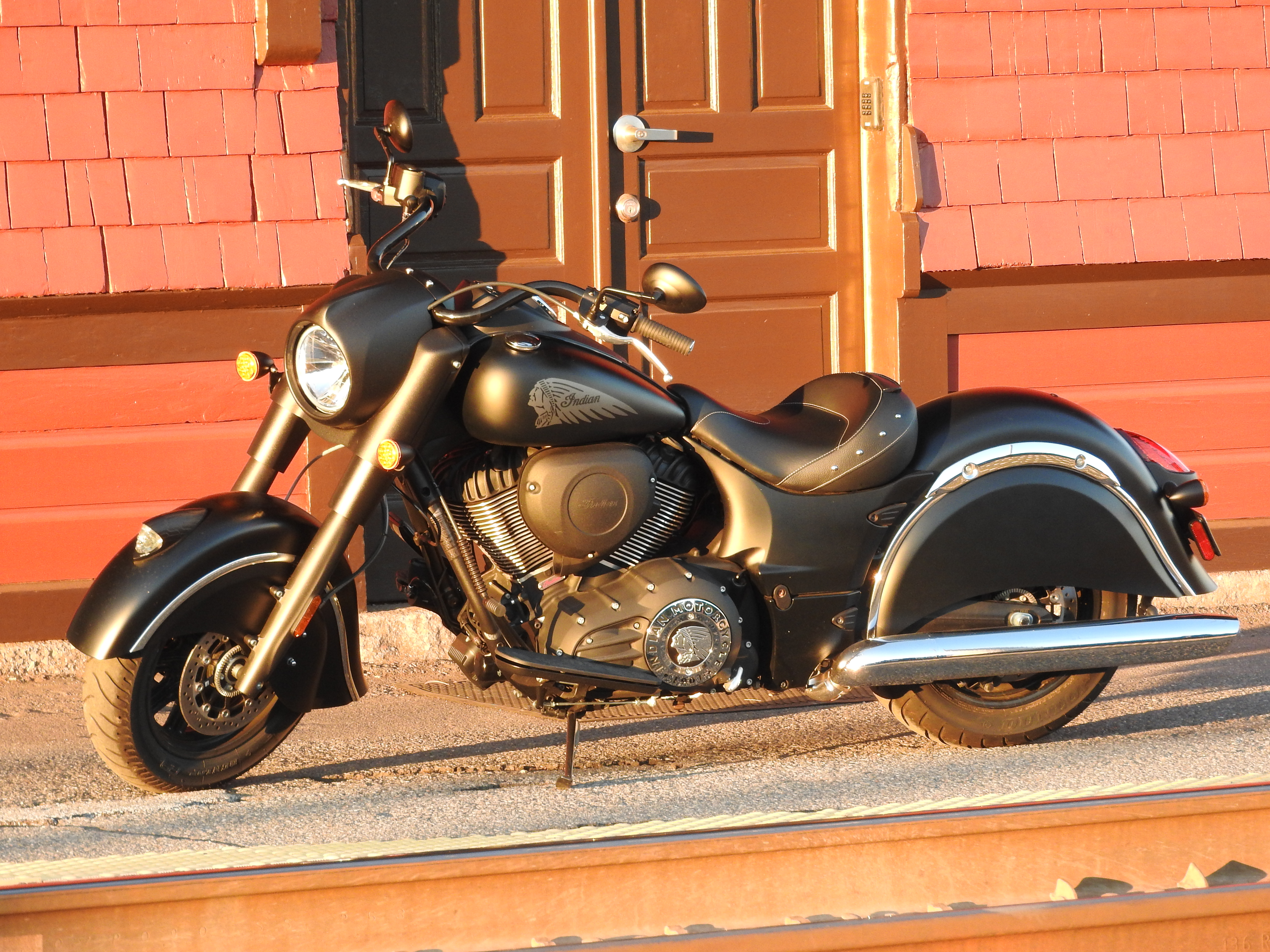 The 2016 Indian Chief Dark Horse.