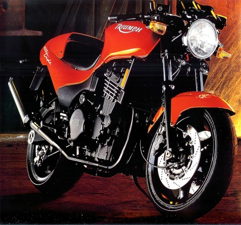 1995 Triumph Speed Triple (Fireball Orange)